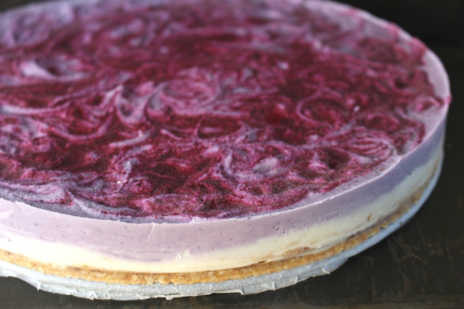 Raw Lime & Blueberry Cheesecake (Vegan)3